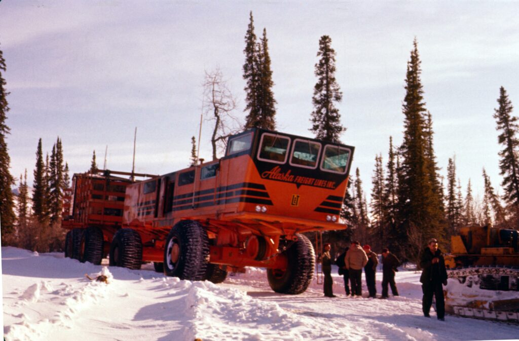The Sno-Freighter's Final Re-Supply Mission