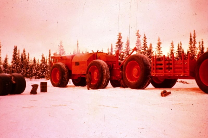 Sno-Train during Environmental Operation Willow Freeze