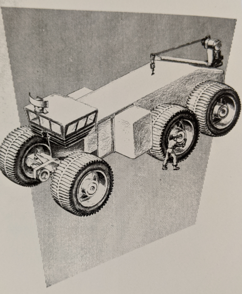 Phase I Overland MkII: Early Drawing